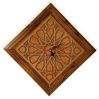 ساعت دیواری چوبی سنتی