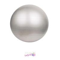 توپ بدنسازی پیلاتس تایتان فیتنس مدل GYM BALL 75Cm خاکستری