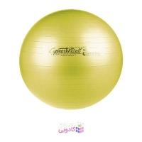 توپ بدنسازی لدراگوما مدل Maxafe با قطر 53 سانتی متر زرد