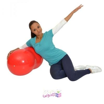 توپ استوانه ای تمرینی جیمنیک Physio Roll آبی