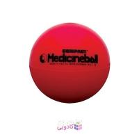توپ تناسب اندام لدراگوما مدل Compact Medicine Ball قرمز