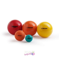 توپ تناسب اندام لدراگوما مدل Compact Medicine Ball زرد