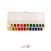 آبرنگ 24 رنگ آقامیری مدل 001