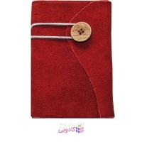 دفترچه یادداشت ژوست مدل دکمه ای قرمز