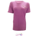 تیشرت آستین کوتاه زنانه طرح سنجاقک کد tm-850 رنگ صورتی
