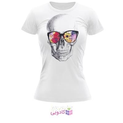 تیشرت زنانه طرح اسکلت کد BS264