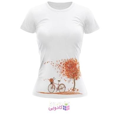 تیشرت زنانه طرح پاییز کد BS266