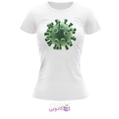 تیشرت زنانه طرح ویروس کد BS329