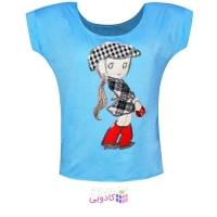تی شرت زنانه طرح tourist کد 110