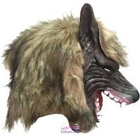 ماسک گرگ مدل Brown wolf mask