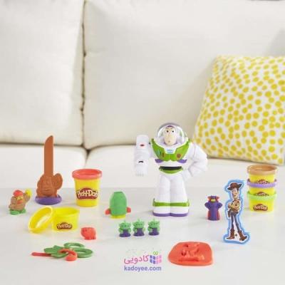 خمیر بازی هاسبرو مدل Play-Doh Buzz Lightyear E3369 مجموعه 9 عددی