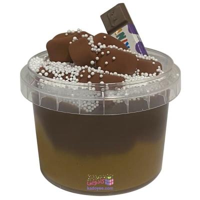 خمیر بازی اسلایم مدل کهکشان هنر طرح شکلات