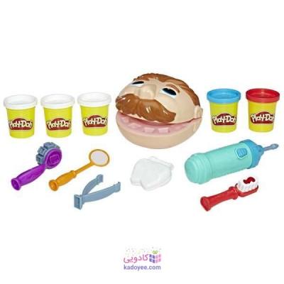 خمیر بازی هاسبرو مدل Play-Doh Dentist B5520 مجموعه 12 عددی