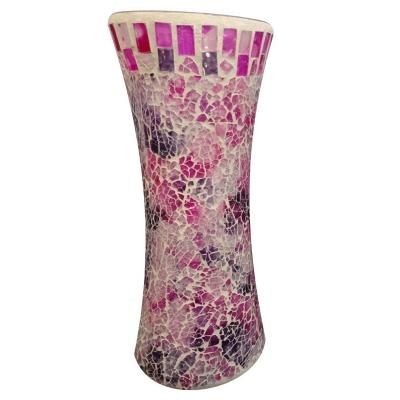 گلدان استوانه ای کمر باریک