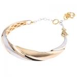 دستبند طلا 18 عیار کد 239-2