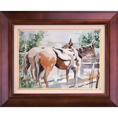 تابلو نقاشی اسب