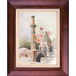تابلو نقاشی آرامگاه شیخ صفی