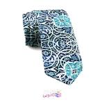 کراوات مردانه طرح کاشی گره