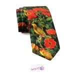 کراوات مردانه گل و مرغ برند شاخه