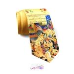 کراوات مردانه طرح شعر و شاهنامه برند شاخه