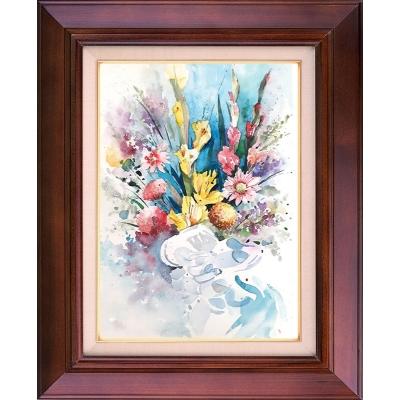 تابلو نقاشی دسته گل