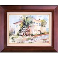 تابلو نقاشی خانه مادربزرگ