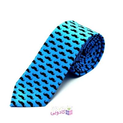 کراوات طرح سیبیل