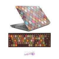 استیکر لپ تاپ طرح سنتی