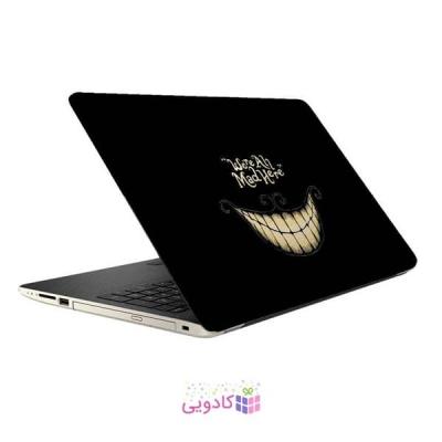 استیکر لپ تاپ طرح روباه