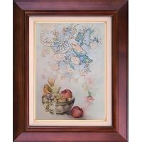 تابلو نقاشی میوه های خیال