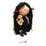 عروسک روسي پارچه اي دست ساز مدل R.eli