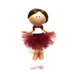 عروسک روسي پارچه اي دست ساز مدل R.balerian