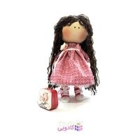 عروسک روسي پارچه اي دست ساز مدل R.ayli