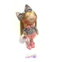 عروسک روسي پارچه اي دست ساز مدل R.abbi