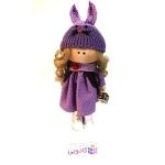 عروسک روسي پارچه اي دست ساز مدل R.misha