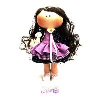 عروسک روسي پارچه اي دست ساز مدل پرنا