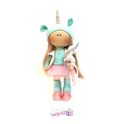 عروسک روسي پارچه اي دست ساز مدل سوزان
