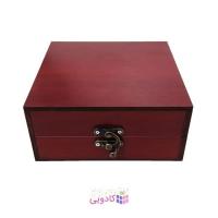 جعبه کادویی چوبی آیهان باکس طرح مات
