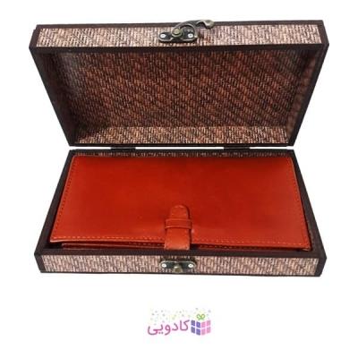 جعبه کادویی چوبی آیهان باکس طرح مشکی