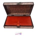 جعبه هدیه چوبی کادویی آیهان باکس مدل 98