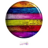 پیکسل طرح راه راه رنگی رنگی کد MA105