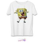 تی شرت زنانه طرح باب اسفنجی