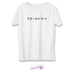 تی شرت زنانه طرح دوستان