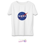 تی شرت زنانه طرح ناسا