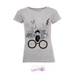 تی شرت زنانه طرح هری پاتر کد B191