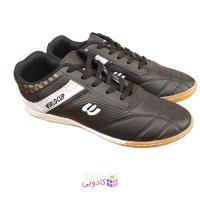 کفش فوتسال و فوتبال مردانه و پسرانه مدل WORLDCUPB LACK